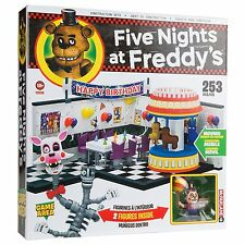 Five Nights At Freddy's GAME AREA Large Construction Set McFarlane Toys 253 pcs