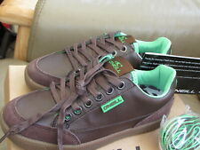 Childrens Unisex Brown Trainers  - Lace Up - UK 2