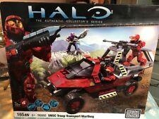 MEGA Bloks Halo UNSC Troop Transport Warthog 96866 rosso da collezione serie 165
