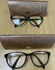 KYLIE MINOGUE eyeglasses TORTOISE SHELL (DANCING) & BLACK (SPINNING AROUND)
