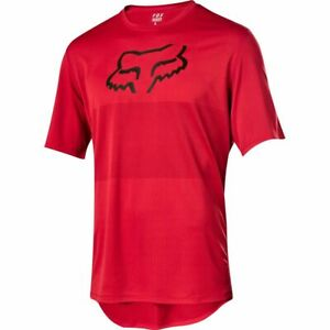 Fox Racing Ranger s/s Short Sleeve Fox Head Jersey Cardinal