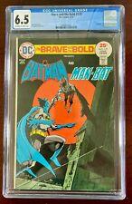 BRAVE AND THE BOLD #119 CGC 6.5 FN+ (DC 1975) BATMAN & MAN-BAT  🔑