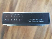 5 port 10/100 Mbps Fast Ethernet Switch with Power