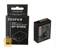 SHIP New Boxed Fujifilm Fuji NP-W126S NPW126S Li-Ion Rechargeable Battery