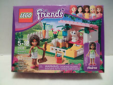 Lego #3938 Friends Andrea's Bunny House Retired Rare and Hard To Find NIB 2012