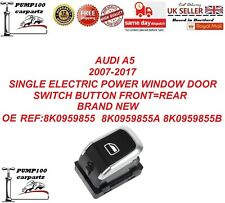 New Single Electric Window Switch Control Button 8K0959855A 2008-2015
