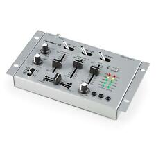 RESIDENT DJ TABLE DE MIXAGE PA 2/3 CANAUX SONO DISCO MICRO IN LIVE MIXING EQ PRO