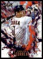 2016 TOPPS FIRE CARLOS CORREA HOUSTON ASTROS #F-5