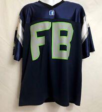 Facebook jersey Navy Blue/green Mens Size Xl