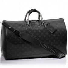Louis Vuitton Keepall 50 Travel Bag Duffle Monogram Eclipse POP UP Isetan New LV
