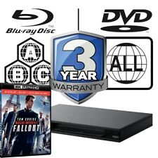 Sony UBP-X800 Code Free Full MultiRegion 4K Player & Mission Impossible Fallout