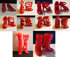 BARBIE LOTTO SCARPE 18 SHOES SCHUHE CHAUSSURES ACCESSORI OUTFIT SET LOT OOAK