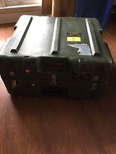 Hardigg Case Trunk Cube 26 x 24 x 13 Military Shipping Storage Gun Ammo Box Foam
