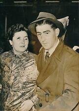ANGLETERRE 1956 - Faits Divers Jeune Aveugle seule Témoin d'un Meurtre - PR 415