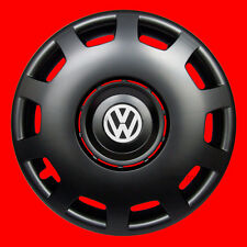 "4x16"" wheel trims for Volkswagen VW Golf - BLACK MATT 16''"