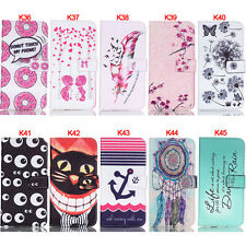 Cat Eye Stand Wallet Leather Flip Case Cover For Samsung S3 S4 S5 S6 S7 S7 Edge
