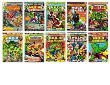 MARVEL SUPER-HEROES HULK & SUB-MARINER #31-40 * High grade Marvel Lot Run of 10