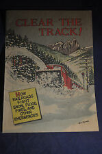 Ca 1956 *MINT* Clear The Track! Railroad Comic Book