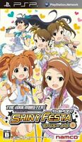 Used PSP THE iDOLM@STER Shiny Festa: Funky Note idol master Japan Import