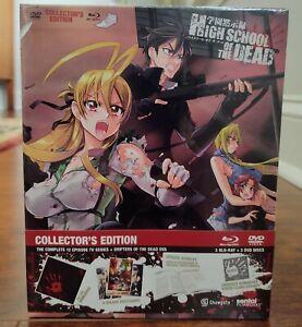 High School of the Dead series + OVA Limited Premium Edition BLU-RAY/DVD Anime