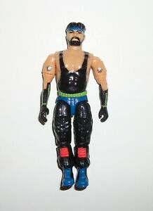 Vintage 1991 Remco Crushing Thunder 3 3/4 AAWF Action Figure Lot #2