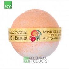 Le Cafe De Beaute Natural Ball for Bathing Bomb Citrus Sorbet 120g