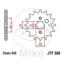 JT Sprockets Ritzel 13 Zähne Teilung 520 grobverzahnt 5 mm 21/25 mm