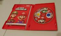 New Super Mario Bros. Wii (Nintendo Wii, 2009) COMPLETE W/MANUAL & INSERTS KIDS