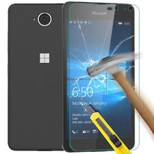 Premium Real HD Tempered Glass Screen Protector For Microsoft (Nokia) Lumia 650