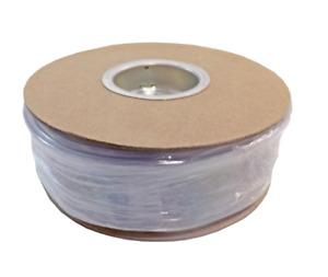 Burndy HSC100FR100 Heat Shrink Tubing 100 ft Roll Clear PVC Heat Shrink