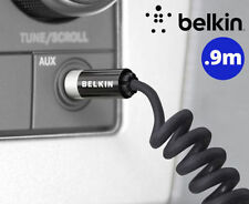 Belkin Coiled 90cm Stereo AUX Audio Cable