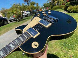 1986 Gibson Les Paul Standard Vintage Gloss Black w/ Ebony Fingerboard