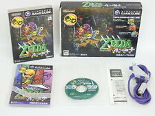 THE LEGEND OF ZELDA Four Swords with GBA Cable /2259 Game Cube Nintendo Japan gc