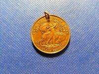 1900 GOLD MEDAL HIGHEST AWARD PAN AMERICAN EXPOSITION MEDAL!  c708DCXX