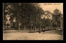 DR JIM STAMPS PARK VIEW MONS BERGEN BELGIUM OLD POSTCARD