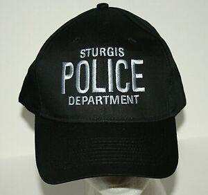 Novelty Sturgis Police Department Bike Week Baseball Cap Hat New OSFA