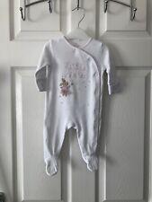 Next Baby Girl Babygrow Sleepsuit 0-3 Months Little Sister