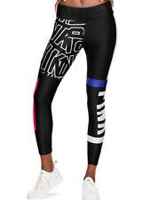 VICTORIA SECRET PINK Black White Blue Red Ultimate Yoga Leggings Pants S NEW