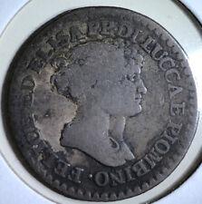 1807 Lucca and Piombino Silver Franco