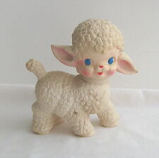 Lamb, Squeaky toy from Sun Rubber Co.