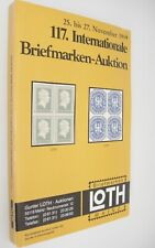 Gunter Loth Internationale Briefmarken Auktion German Stamp Auction Catalog 1999