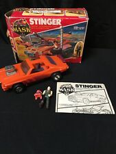 Vintage 1986 Kenner M.A.S.K Stinger with box, instructions, comic book - MASK