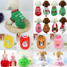 Cute Pet Dog Cat Clothes Summer Puppy T-Shirt Clothing Small Dogs Chihuahua Vest