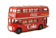 MCC  1960 ROUTEMASTER LONDON DOUBLE DECKER BUS COCA COLA COKE 1/64 RED 464001