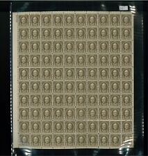 1929 United States Postage Stamp #653 Plate No. 20409 Mint Full Sheet