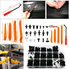 435 PCS Plastic Clip Car Body Retainer Push Pin Trim Rivet Panel Moulding Tool