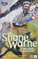 SHANE WARNE – DVD, AUSTRALIAN CRICKET, CHANNEL 9, RARE!!! , played once