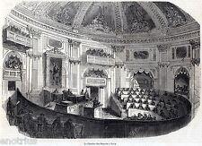 Torino: Camera dei Deputati. Regno di Sardegna. Casa Savoia. Stampa Antica. 1849