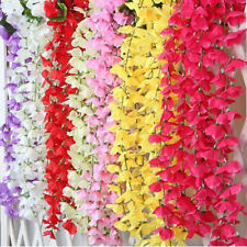 Artifical Fake Flowers Ivy Vine Hanging Garland Plant Wedding Home Decorations