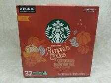 Starbucks Pumpkin Spice Flavored Ground Coffee 32 K-Cups Limited Edition BB 3/20
